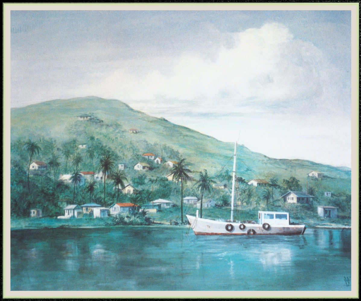 Уильям Вуд. Причал рыбацких лодок