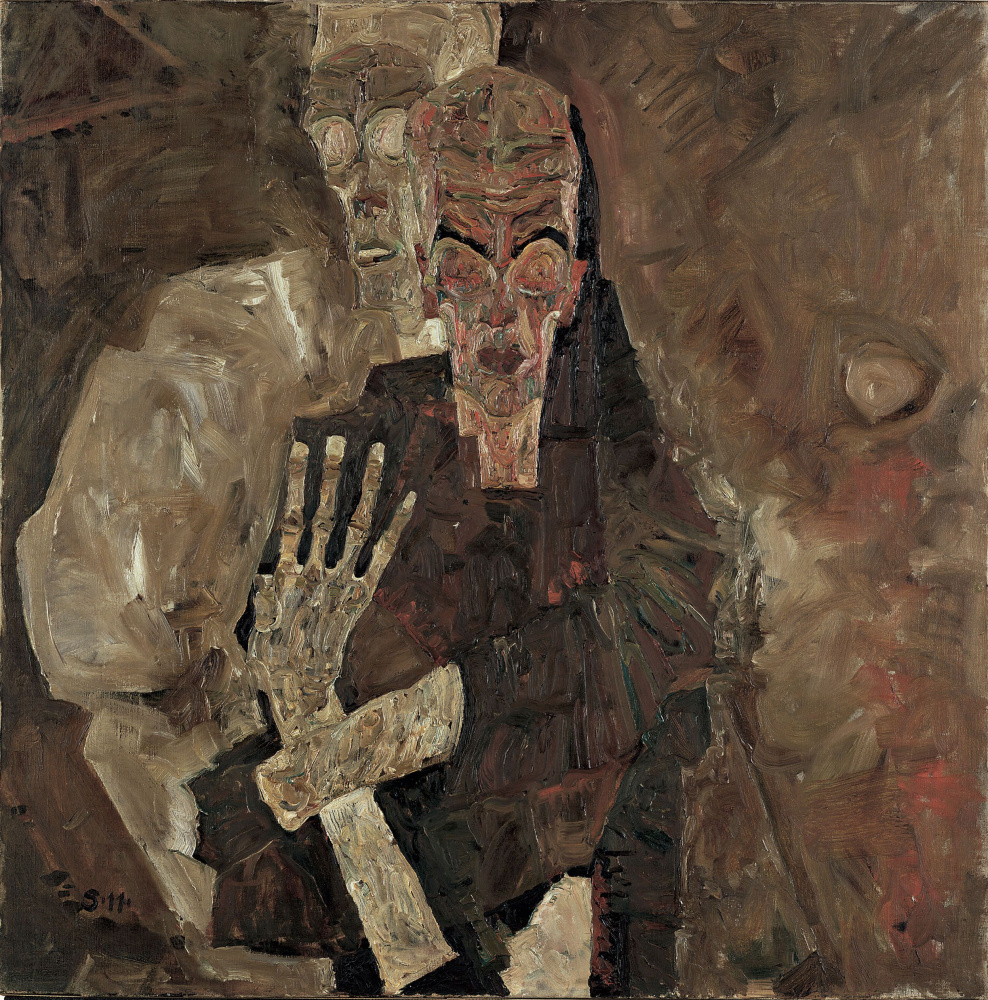 Egon Schiele. Seeing your own Ghost