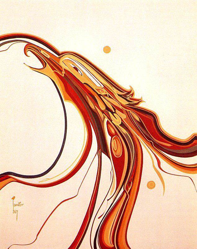 Alex Janvier. Quick lift