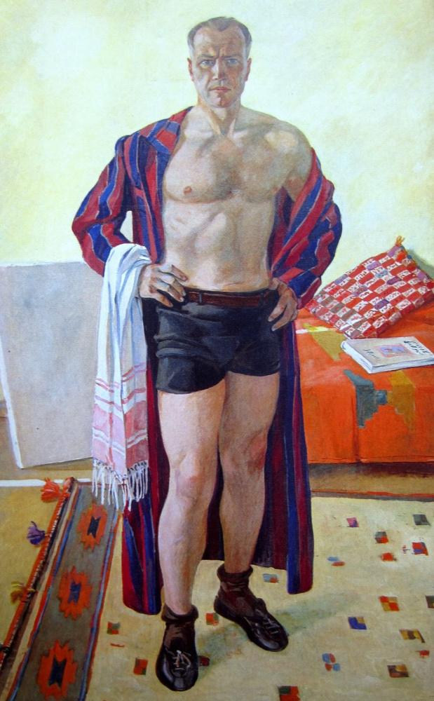 Александр Дейнека. Автопортрет