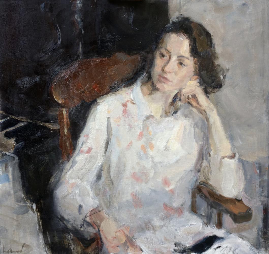 Samir Rakhmanov. Portrait of Barbara