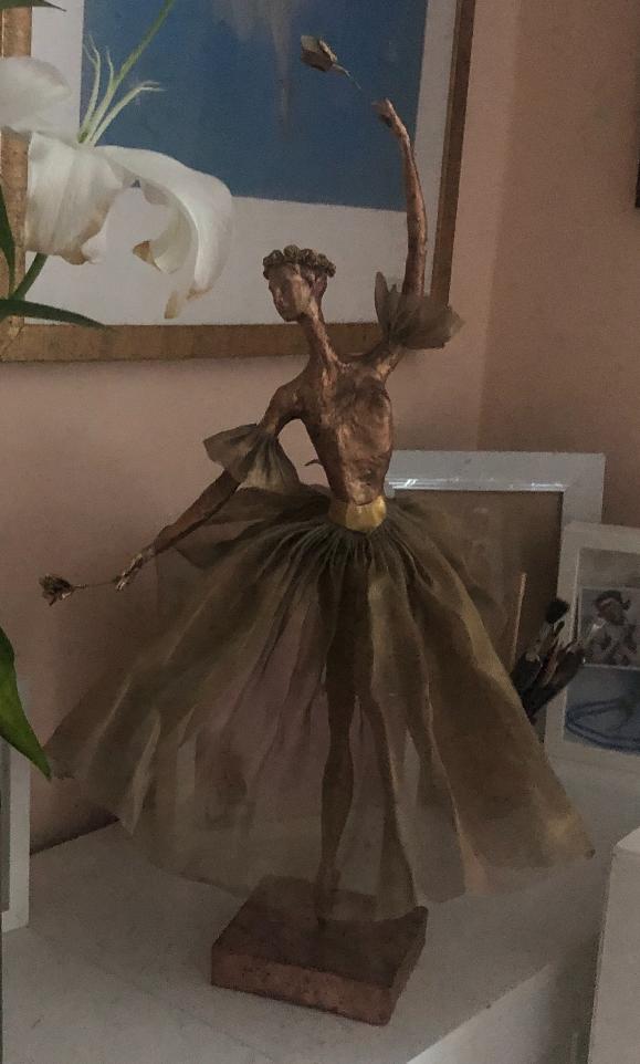 Nina Mikhailovna Kukhtevich. Myrtle from the ballet Giselle