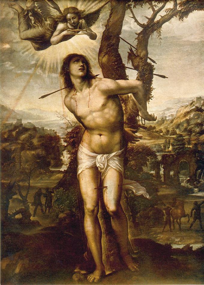 Giovanni Antonio Bazzi (Sodom). Saint Sebastian