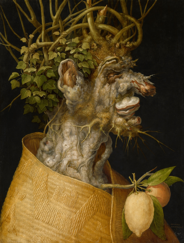 Giuseppe Arcimboldo. 4 seasons. Winter. The first series