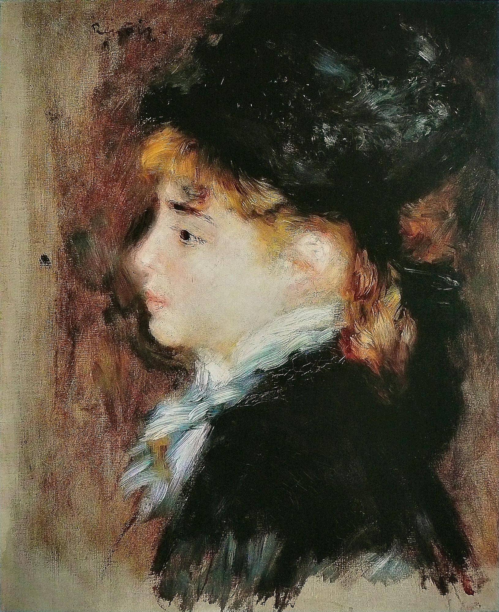 Pierre-Auguste Renoir. Portrait Of Margaux