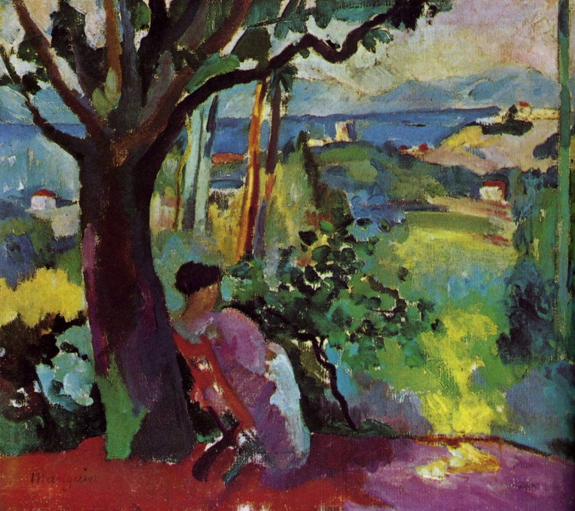 Henri Manguin. The end of summer. Jeanne Villa Demie