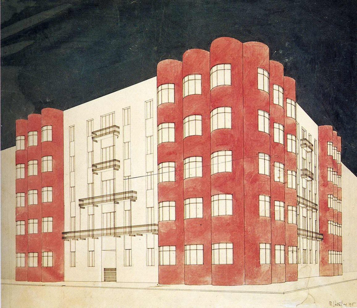 Марио Чиаттон. Красное здание