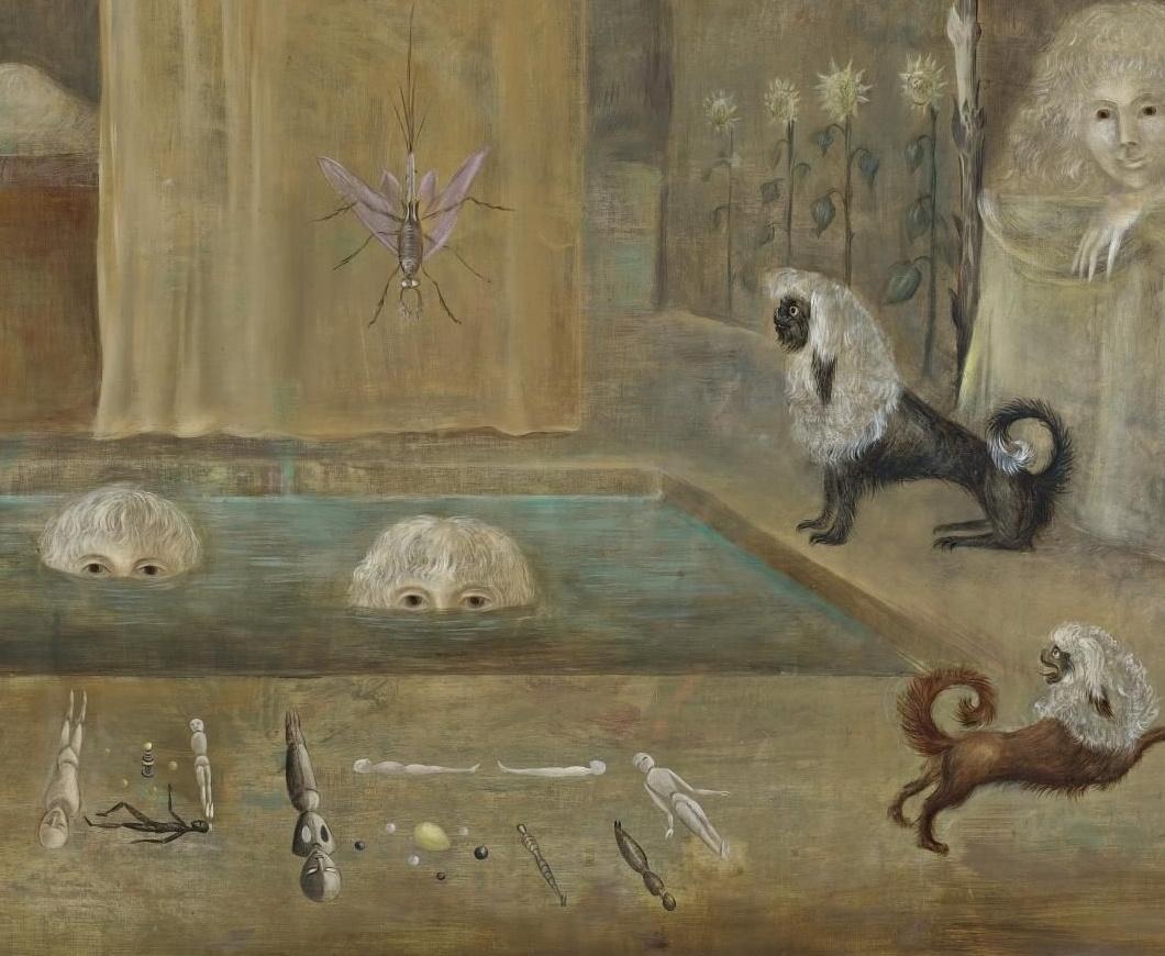 Leonora Carrington. In the bathroom. Fragment II