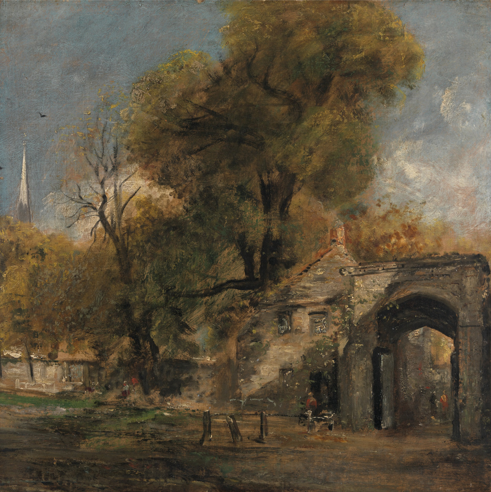 John Constable. Harnham Gate, Salisbury