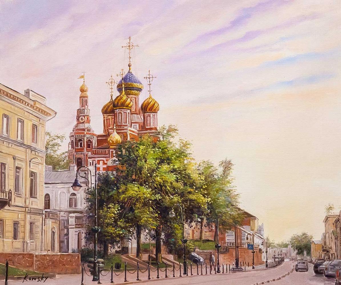 Savely Kamsky. Christmas Church in Nizhny Novgorod