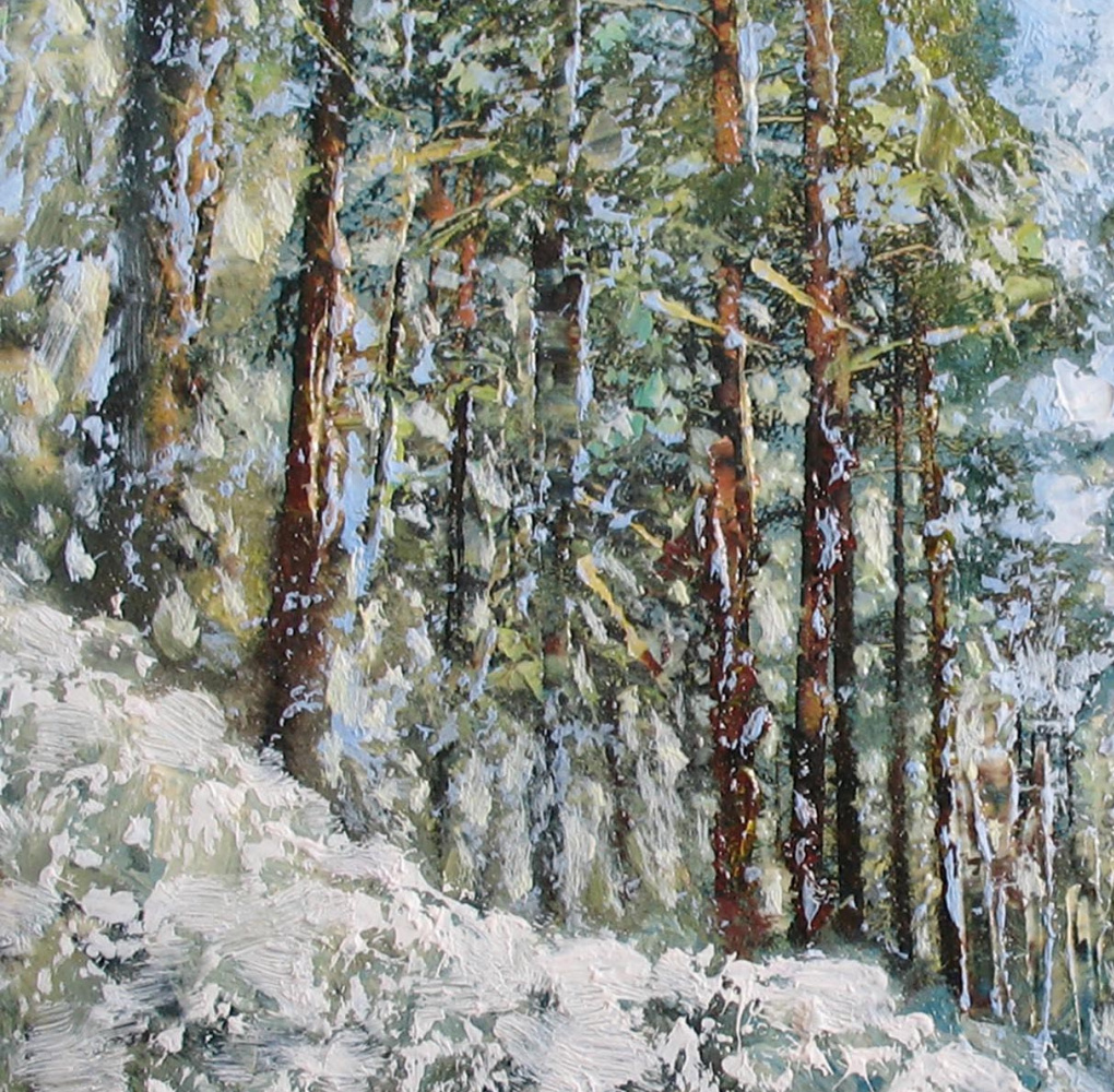 Alexander Ivanovich Vlasyuk. Farewell to winter