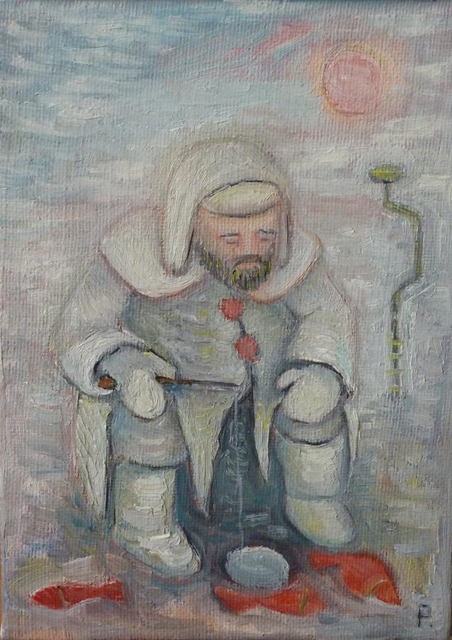 Svyatoslav Ryabkin. Winter fishing Winter fishing