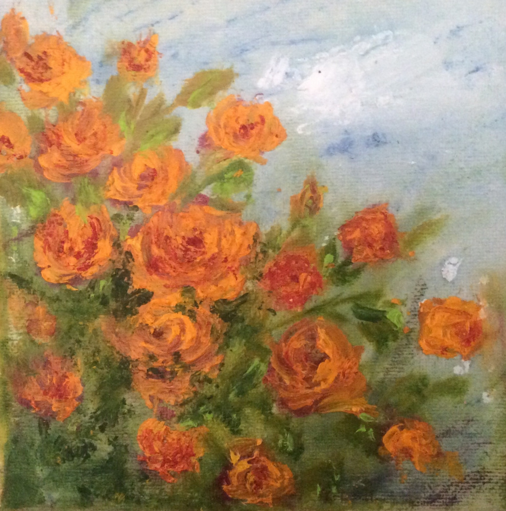 Rita Arkadievna Beckman. Золотые розы