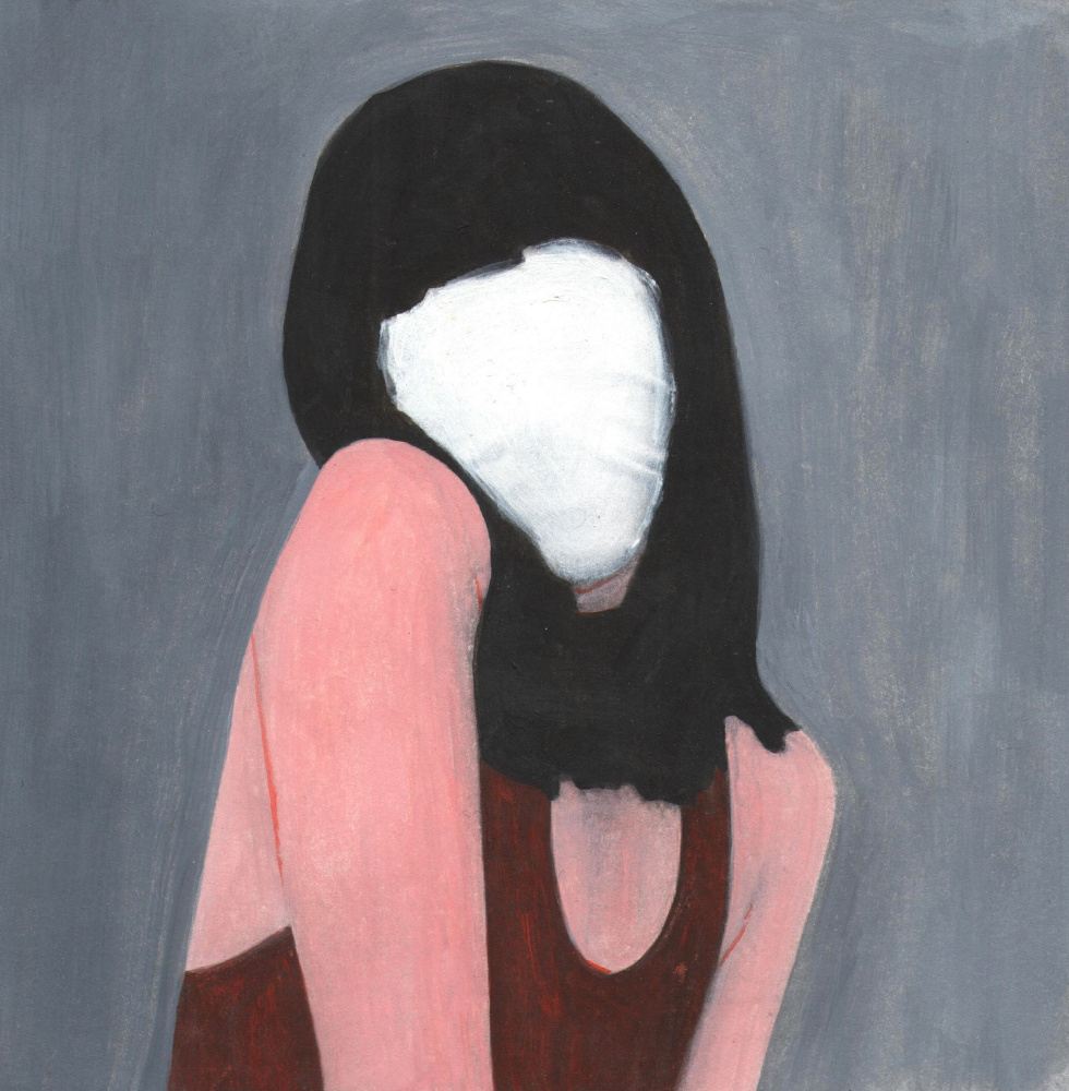 Nickie Zimov. White shawl