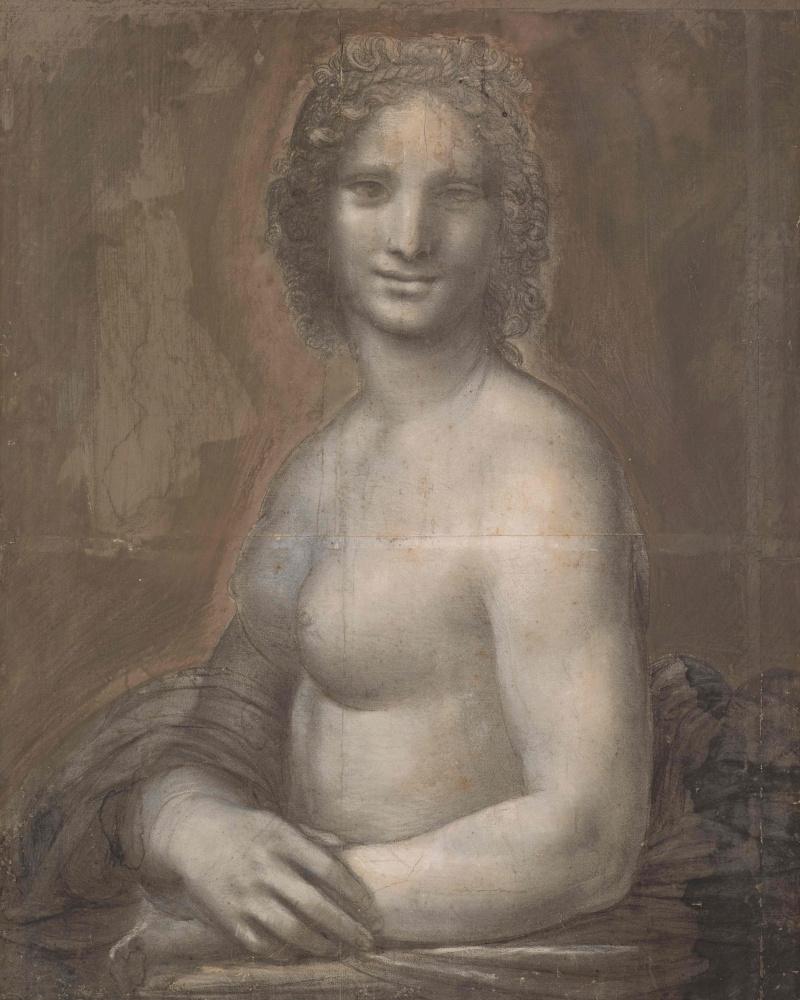 Леонардо да Винчи. Мона Ванна (мастерская Леонардо?)