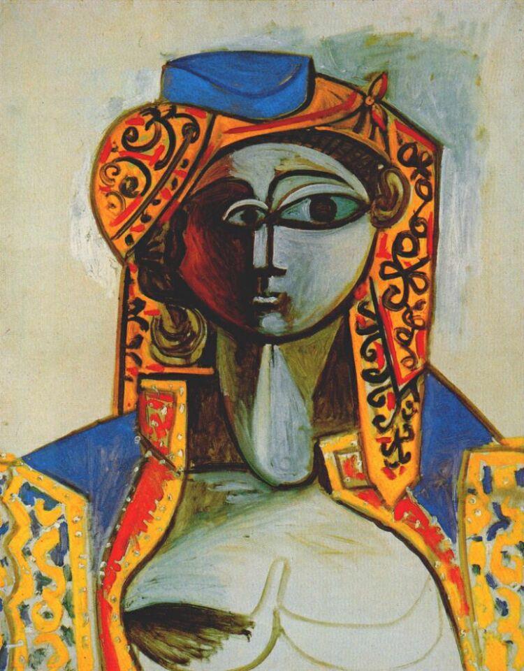 Пабло Пикассо. Жаклин в турецком костюме