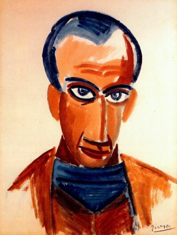 Пабло Пикассо. Портрет Макса Жакоба