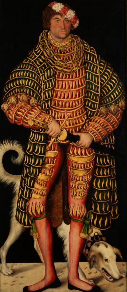 Лукас Кранах Старший. Портрет Ганриха Благочестивого, герцога Саксонского