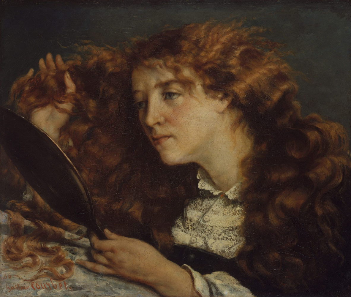 Gustave Courbet. Beautiful Irish (Portrait of Joe)