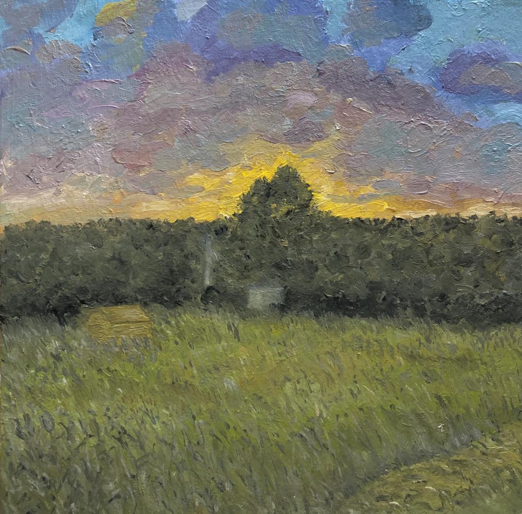 Vladislav Vossoyed. Before sunset
