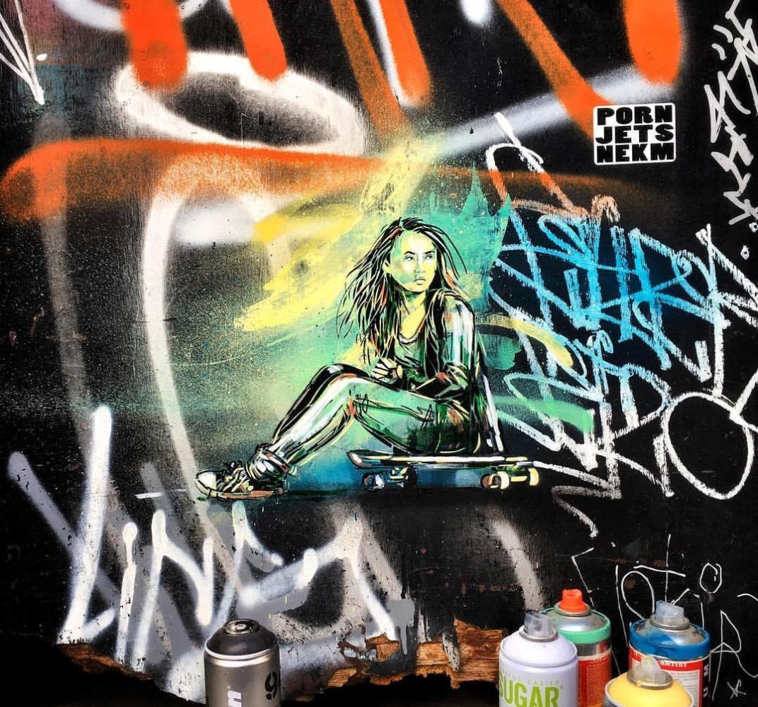 Alice Pascini. Murals in Melbourne