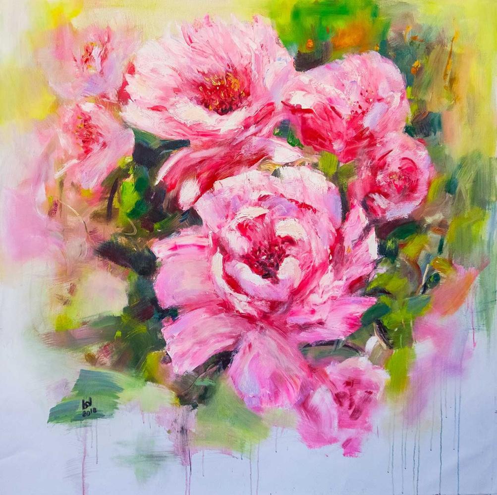 """Brian dupre. """"Wild Rose"""", series """"In the Flowering Garden"""""""