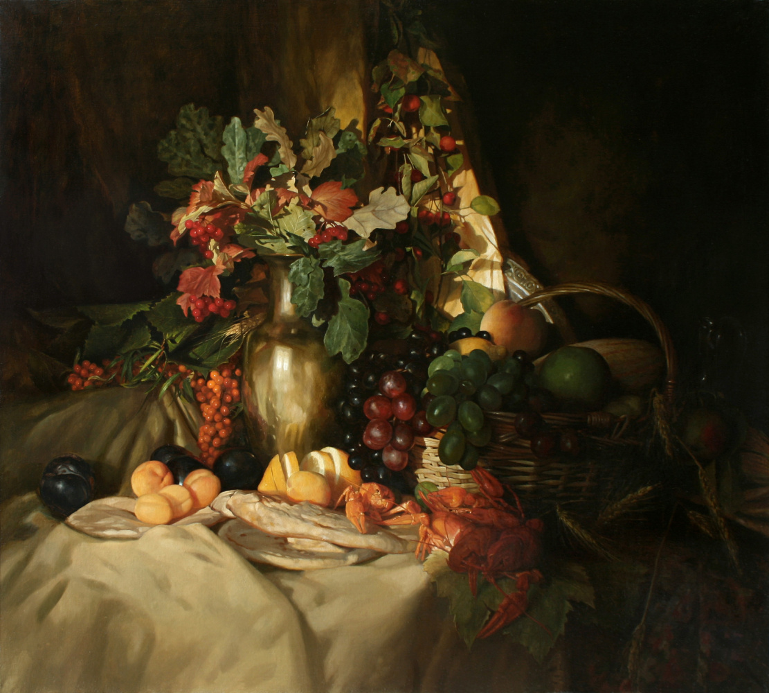 Andrey Nikolaevich Mironov. Завтрак с раками