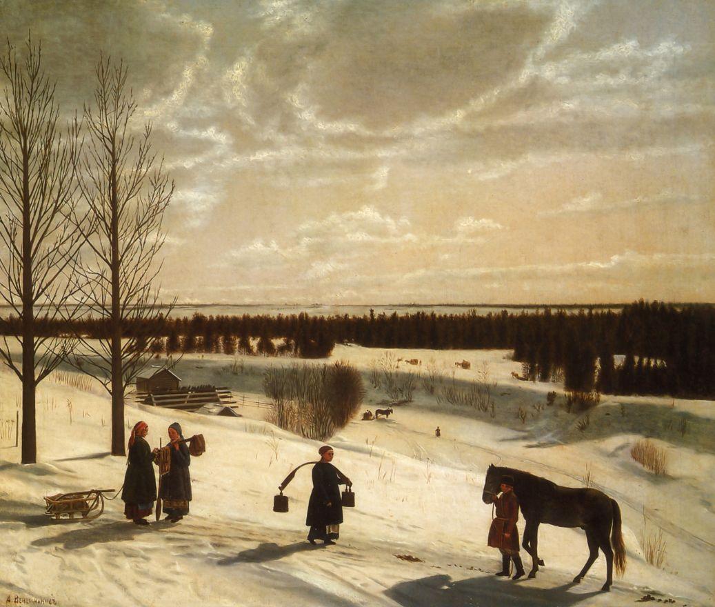 Никифор Степанович Крылов. Зима