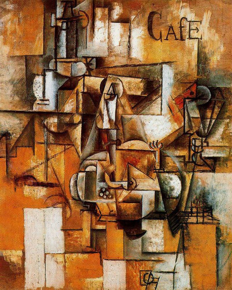 Пабло Пикассо. Голубь с зелёным горошком