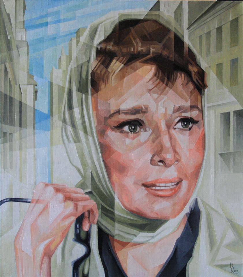 Vasily Krotkov. Holly. Post-cubofuturism
