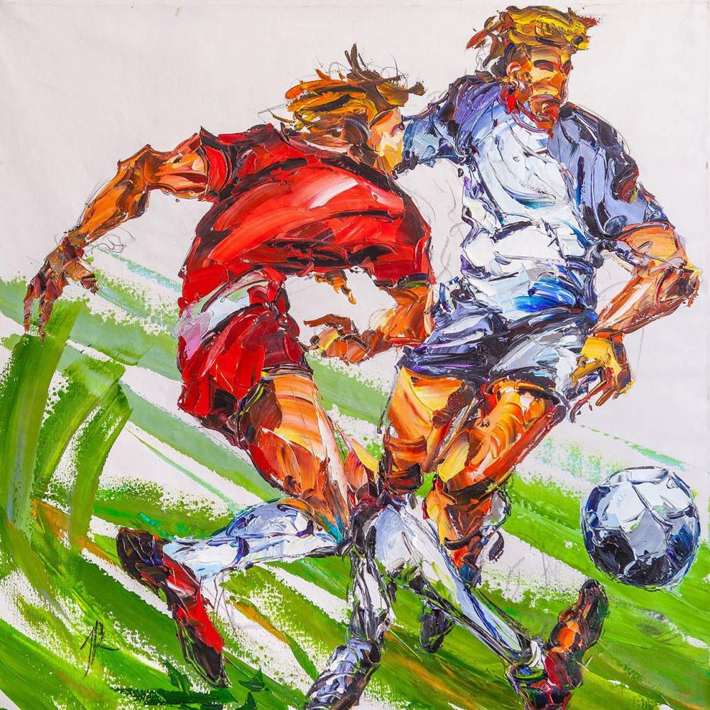 Jose Rodriguez. Two footballers