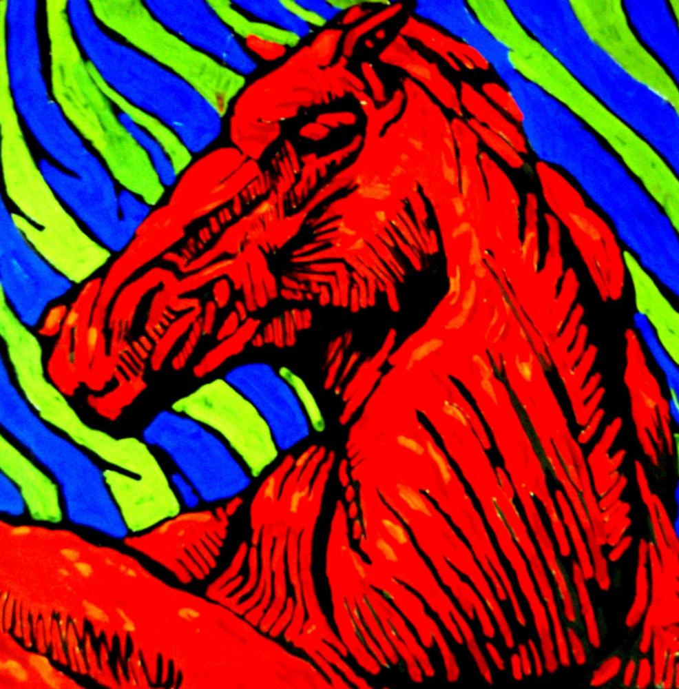 Maria Drozdova. Horse