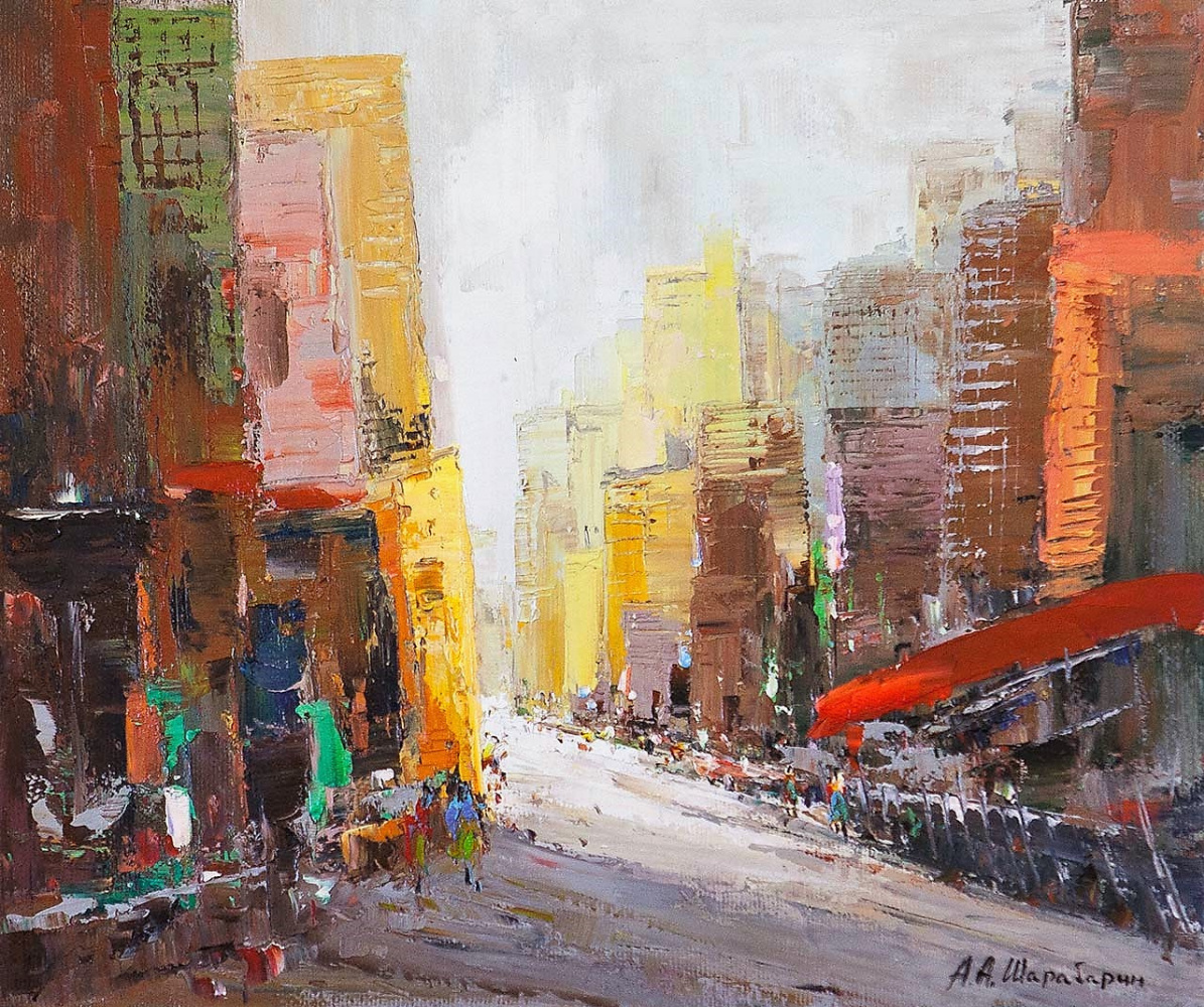 Андрей Шарабарин. Городские впечатления N2