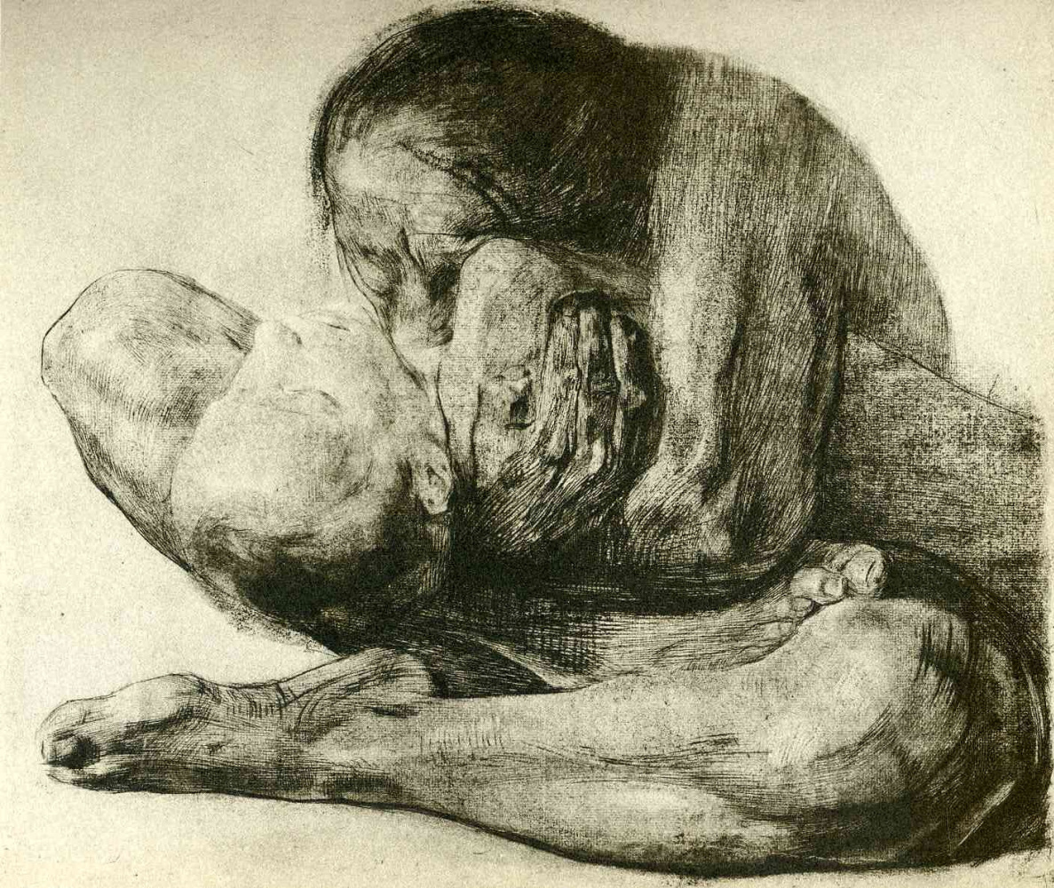 kathe kollwitz woman with dead child