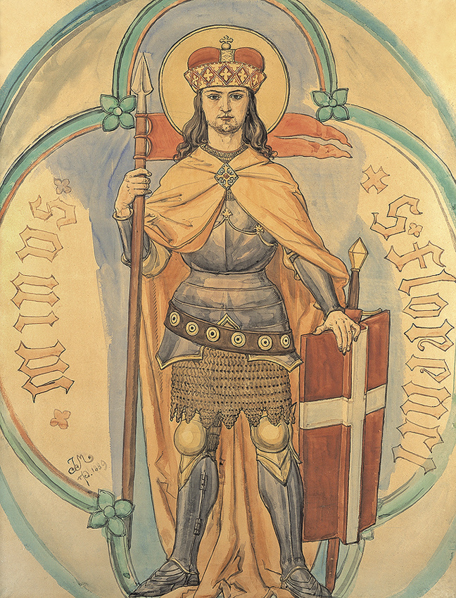 Ян Матейко. Святой Флориан
