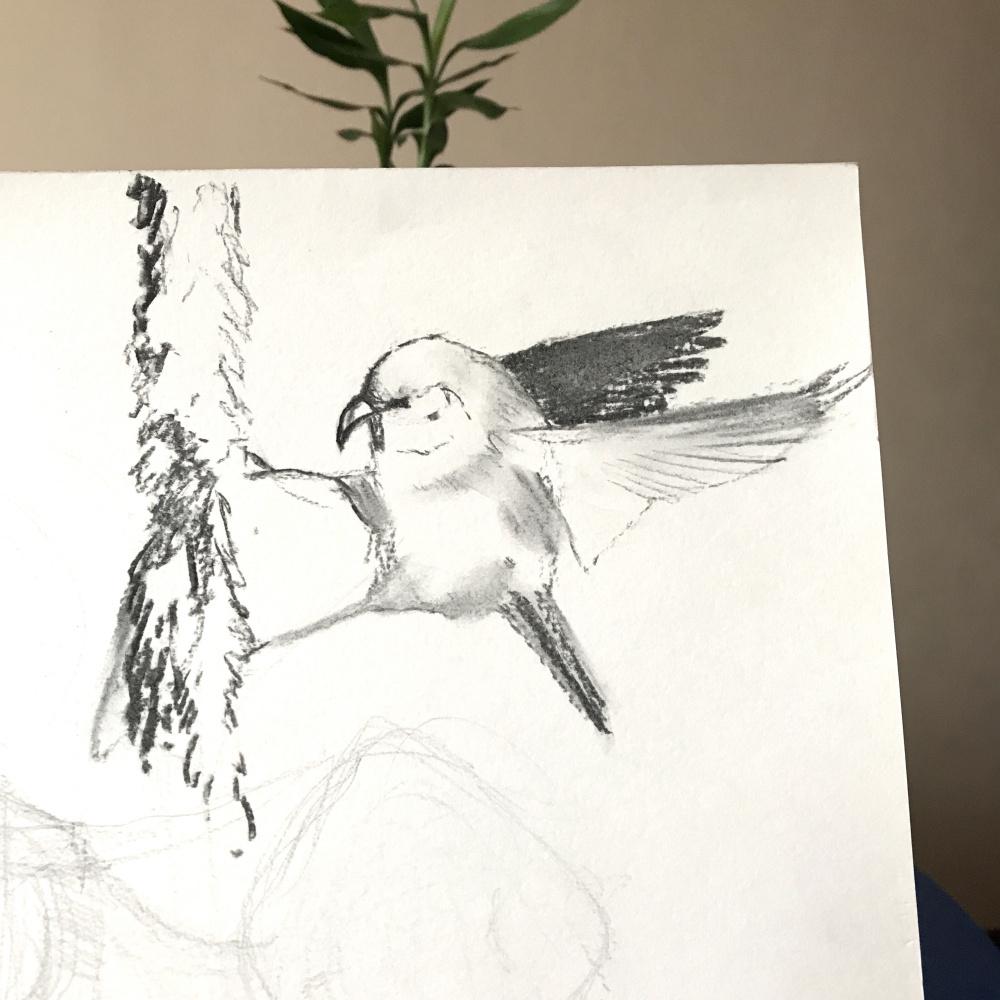 Diana Schegiriova. Bird