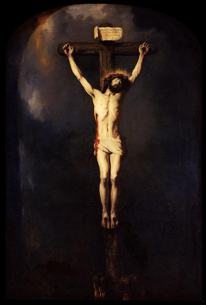 Ян Ливенс. Иисус на кресте (Распятие Христа)