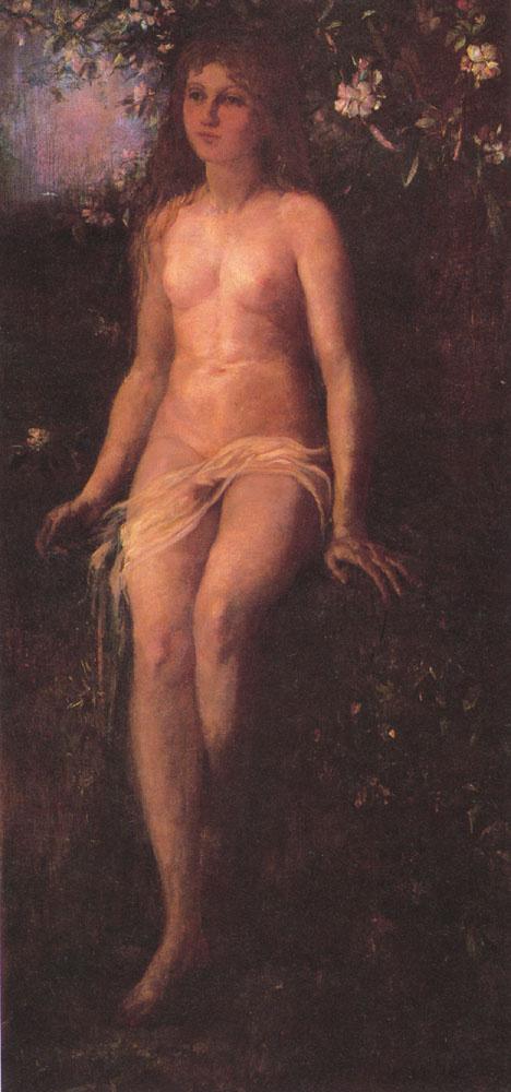 Джон Лафарг. Молодая красавица