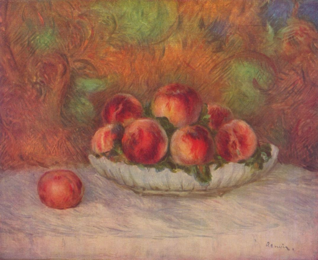 Pierre-Auguste Renoir. Still life with fruits