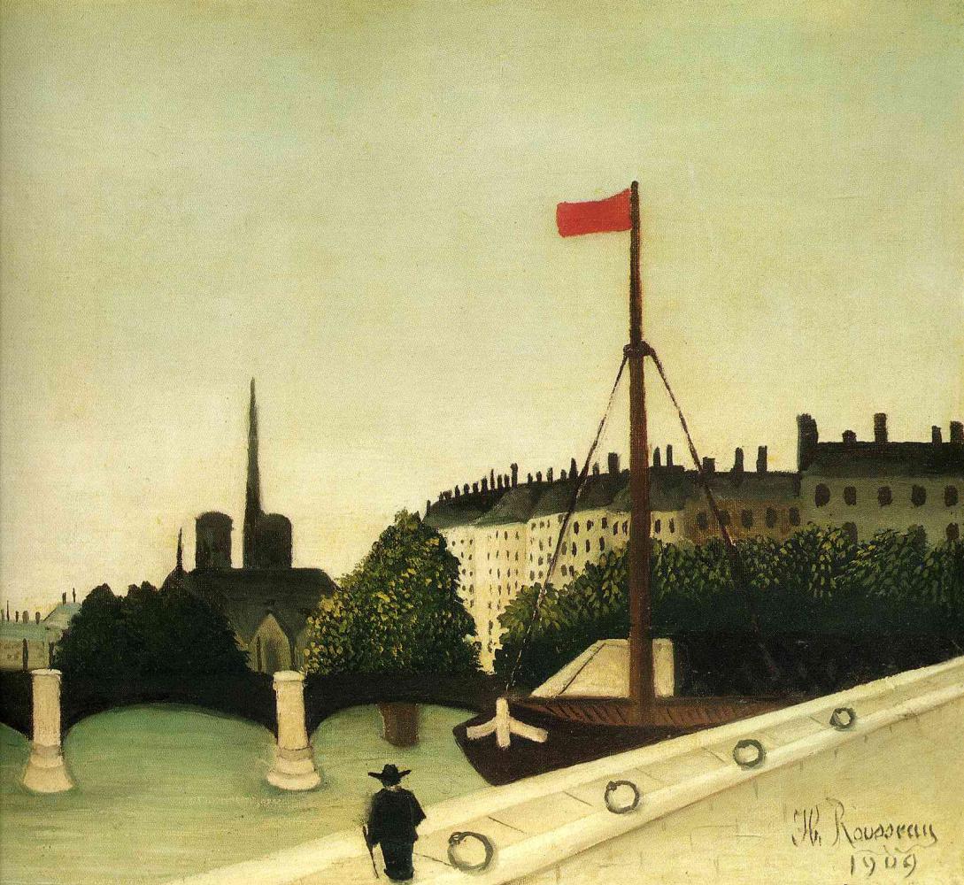 Henri Rousseau. Under the sky of Paris