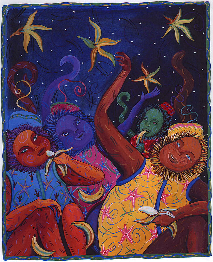 Dana Simson. Night monkey