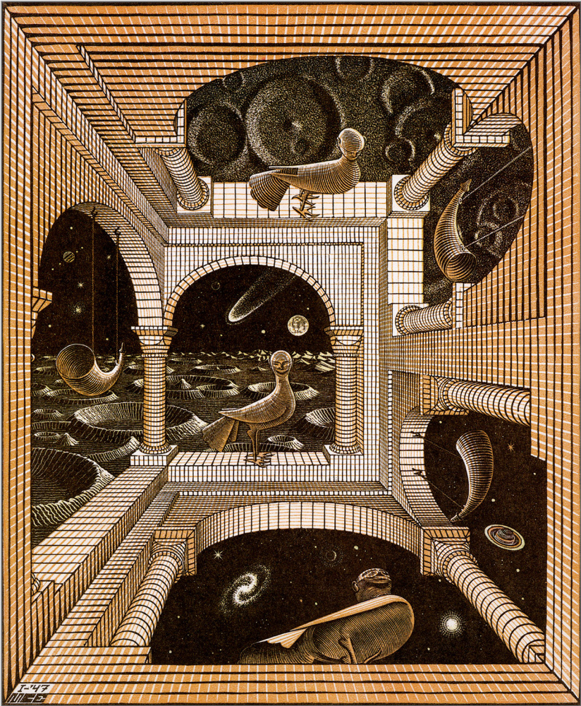 Maurits Cornelis Escher. Another world