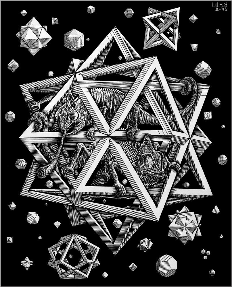 Maurits Cornelis Escher. Stars