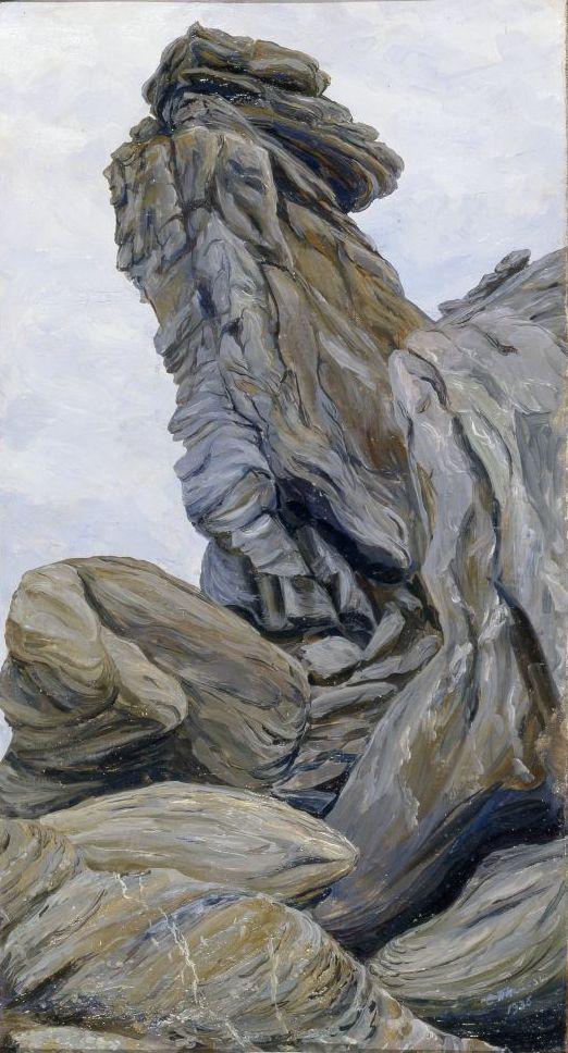 Степан Григорьевич Писахов. Rocks on the Cape of Desire