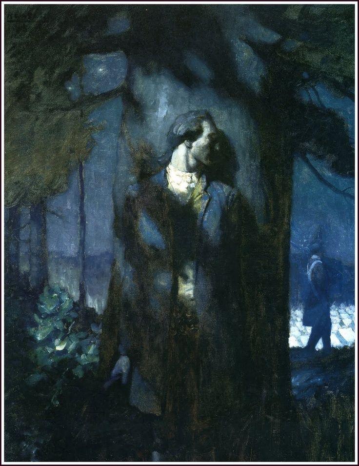 """Ньюэлл Конверс Уайет. Иллюстрация к книге """"Поэмы американского патриотизма"""""""