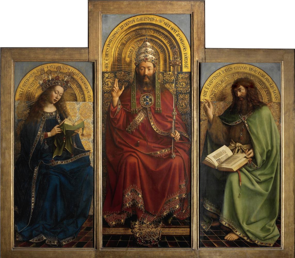Jan van Eyck. The Ghent altarpiece (detail)