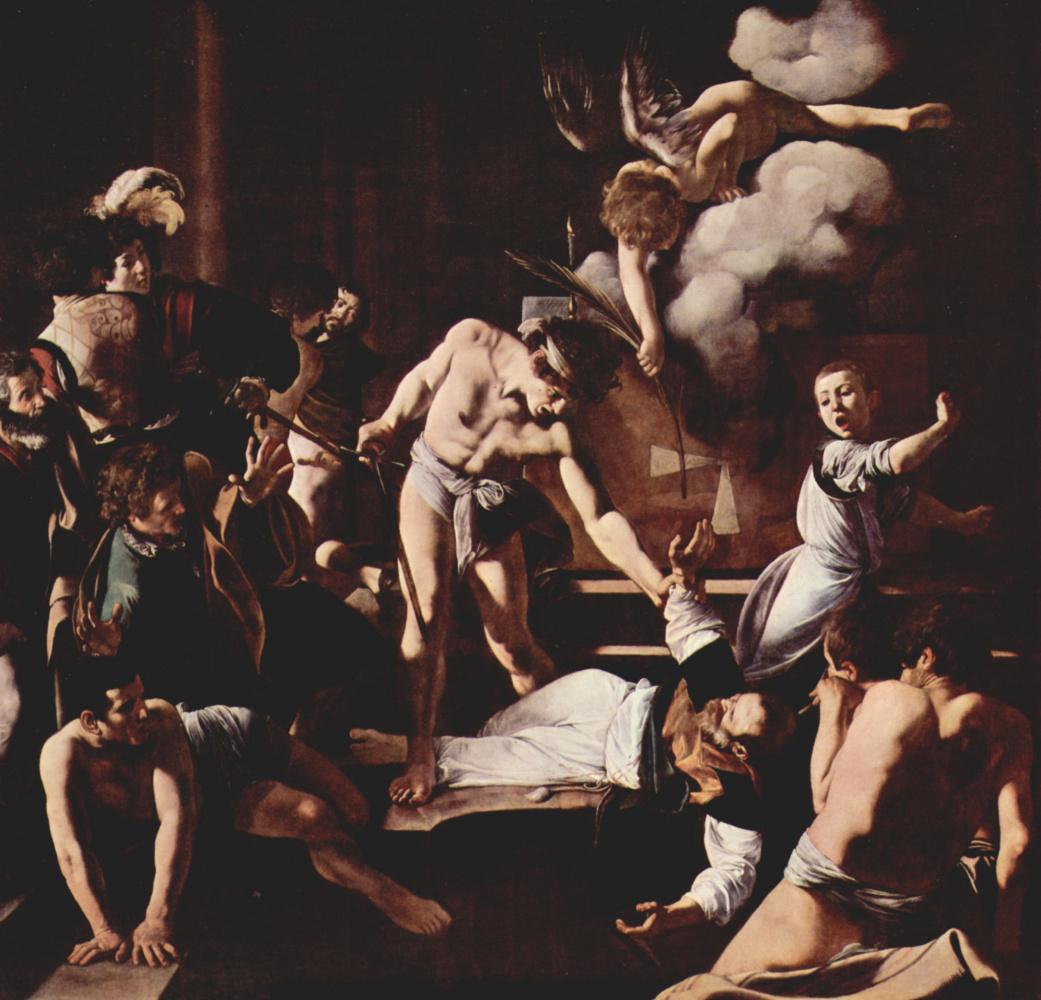 Микеланджело Меризи де Караваджо. Мученичество Святого Матфея