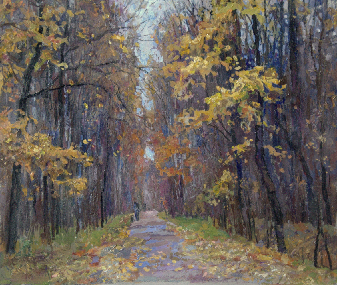 Oleg Borisovich Zakharov. Walk in the fall