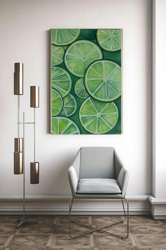 "Мария Евгеньевна Сироткина. Oil painting ""Lime Mood"""