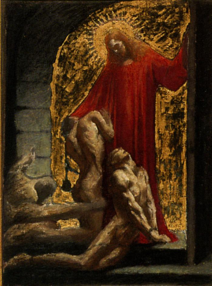 """Жан Дельвиль. Христианское Правосудие. Финальный эскиз для цикла """"Правосудие"""""""